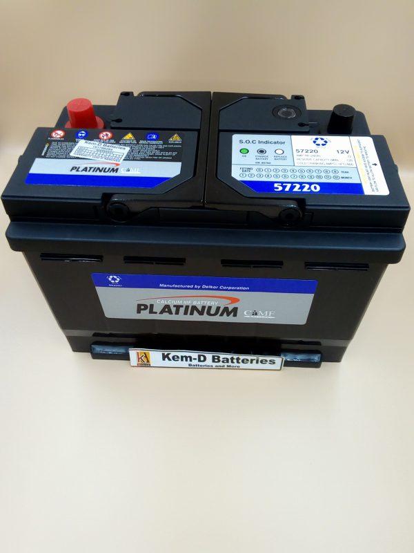 15 Plates Platinum Car Battery